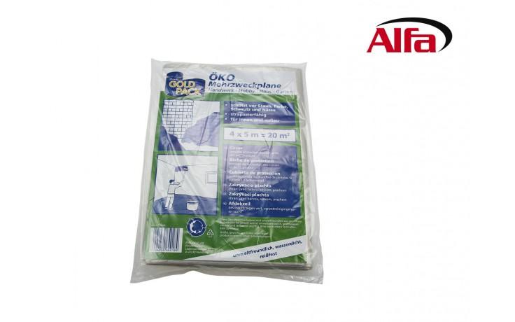 Film de protection particulièrement résistant pour protéger rapide et facilement des poussières, salissures, couleurs, vernis et humidité.