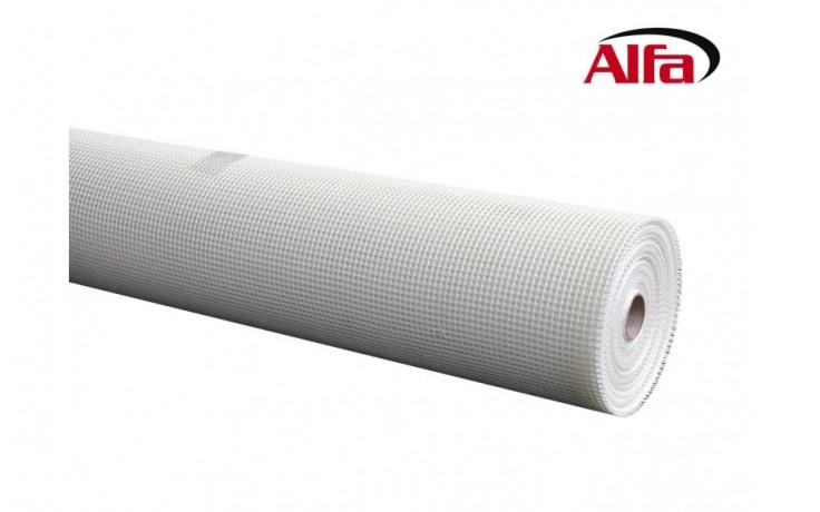 526 ALFA - Treillis en fibre de verre 75 g/m² pour crépis intérieur- ultra résistant