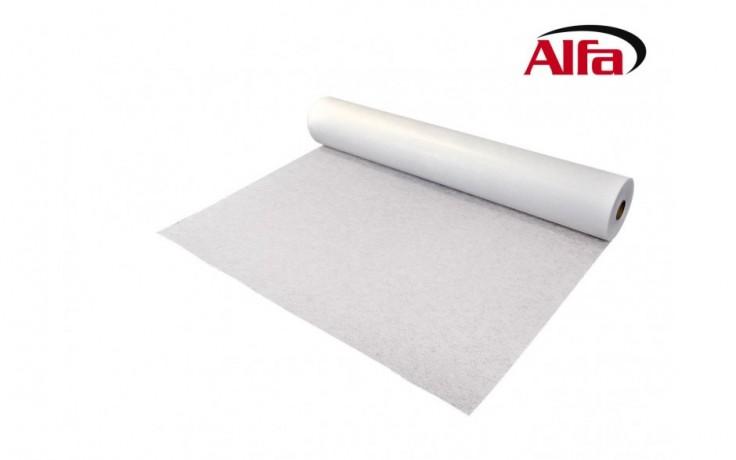 402 ALFA - Toile de rembourrage en fibre de verre pour renforcé les surfaces crépis; il prévient et protège d´éventuelles fissures.