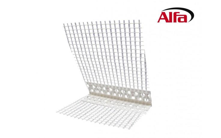 554 ALFA profilé d´angle avec treillis et arête