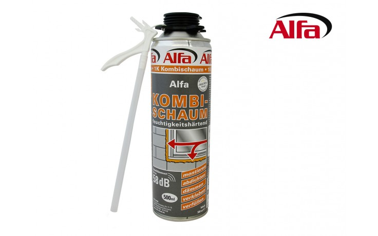607 ALFA - Mousse polyuréthane expansive «Combi»