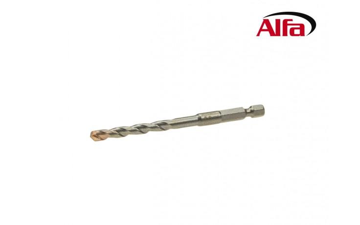 Foret spécial en métal dur coupe haute précision pour percer la tuile