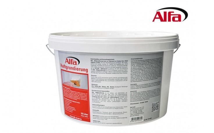 772 ALFA - PRIMER - Primaire - pour surfaces peu ou pas imprégnantes