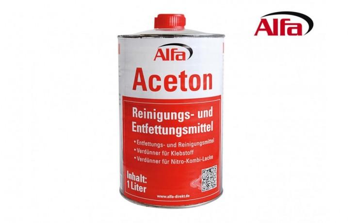 778 ALFA «Acétone» - Dissolvant colles, vernis, encres