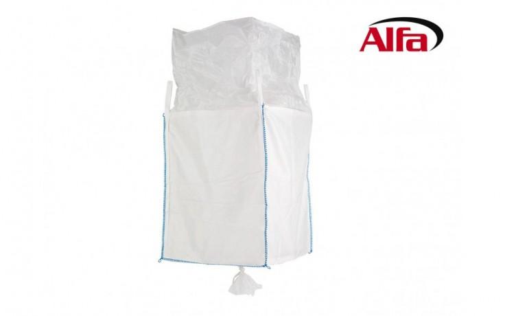 926 ALFA - BIG-BAGS avec jupe, doublure haute et ouverture au fond du sac
