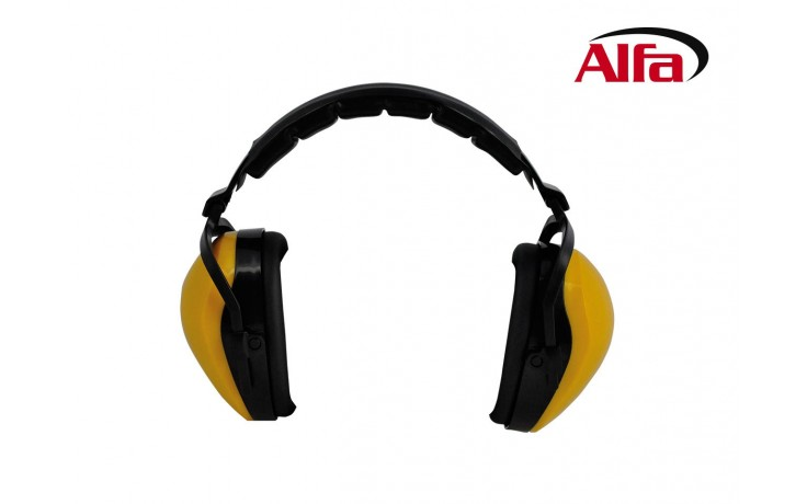 Casque protection auditive avec étriers rembourrés