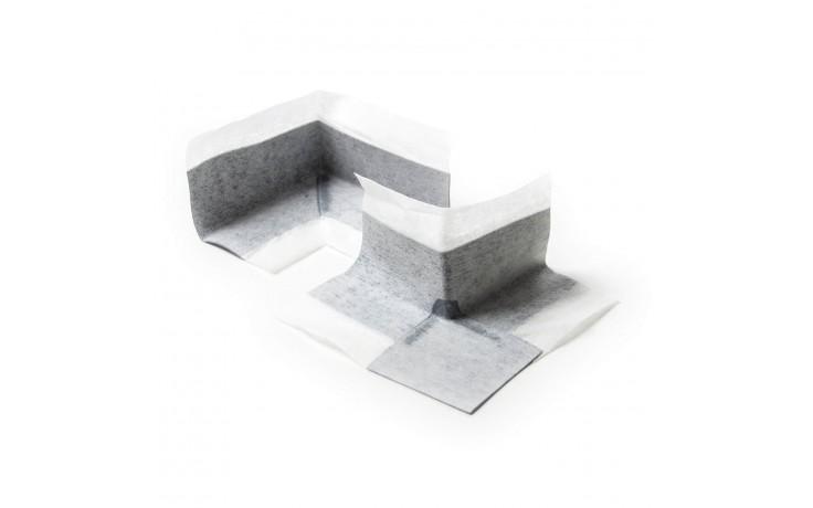 Angles en caoutchouc revêtement non tissé sur les deux surfaces