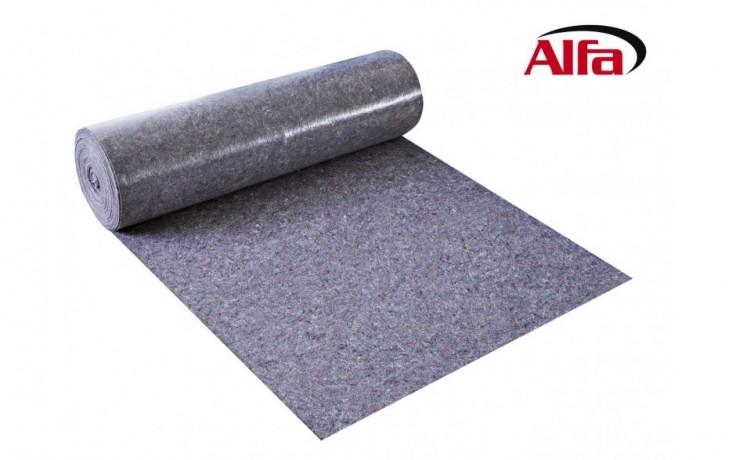 599 ALFA Bâche de protection en textile non-tissé avec film antiglisse sur la surface intérieur.