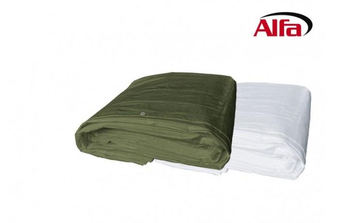 424 ALFA - Bâche tissulaire 150 - bâche de protection en PE, ultra résistante