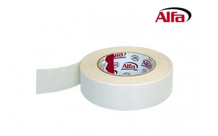 250 ALFA ExtraTape – Ruban adhésif pour professionnels (autocollante double face). Intérieur - pour poseurs de sols, décorateurs, architectes d´interieur, peintres, organisateurs de salons.
