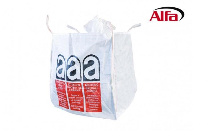 921 ALFA - Big-Bag «Amiante» - Sacs homologués pour le transport de déchets amiantés