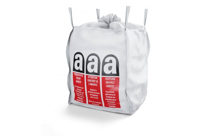 Big Bag jusqu' à 1000kg, ultra stable avec jupe de protection et fermeture