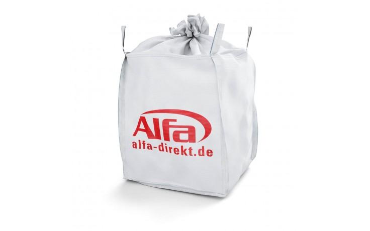 920 ALFA - BIG-BAG transport sûr et sans danger par sa fermeture à 4 passants avec un chariot élévateur à fourches et / ou une grue