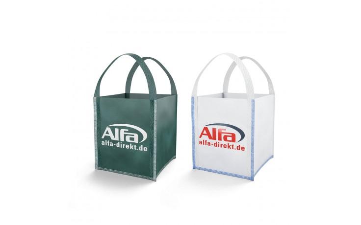 925 ALFA - Big Bags - MINI blanc et vert