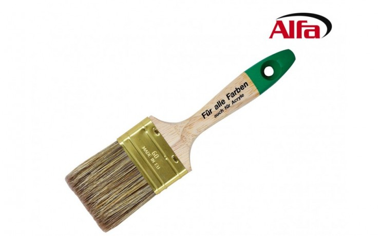 481 ALFA - LASURES - Brosse à laquer - intensité 9. «LASURLine»