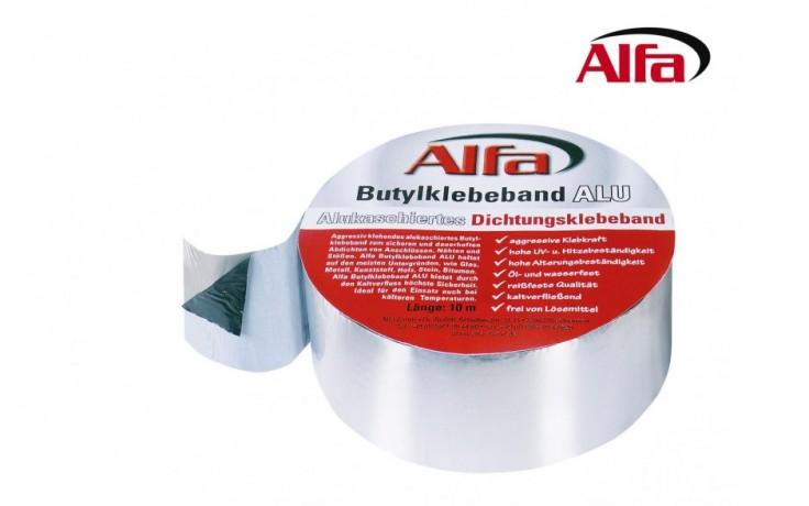 121 ALFA - Butylbande ALU (avec cache Alu)