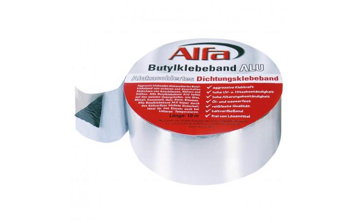 Ruban adhésif en Butyl avec cache en alu, ultra fixant