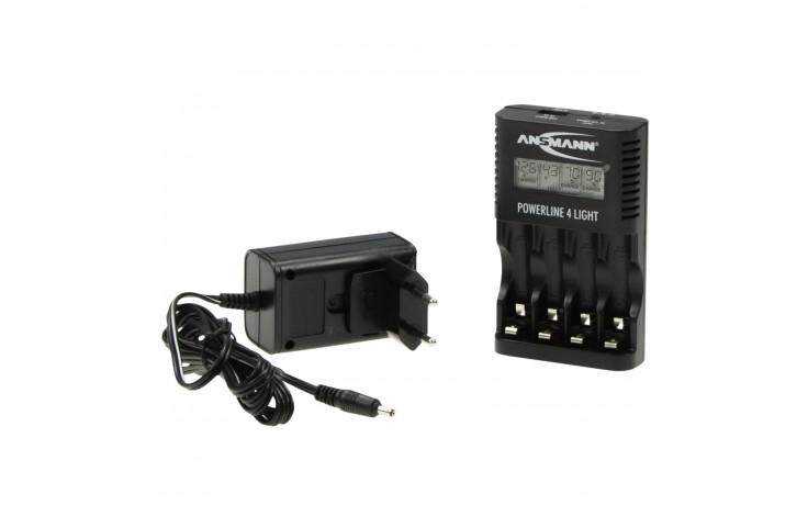 Chargeur de piles pour batteries Micro (AAA) ou Mignon (AA) livré avec stick USB
