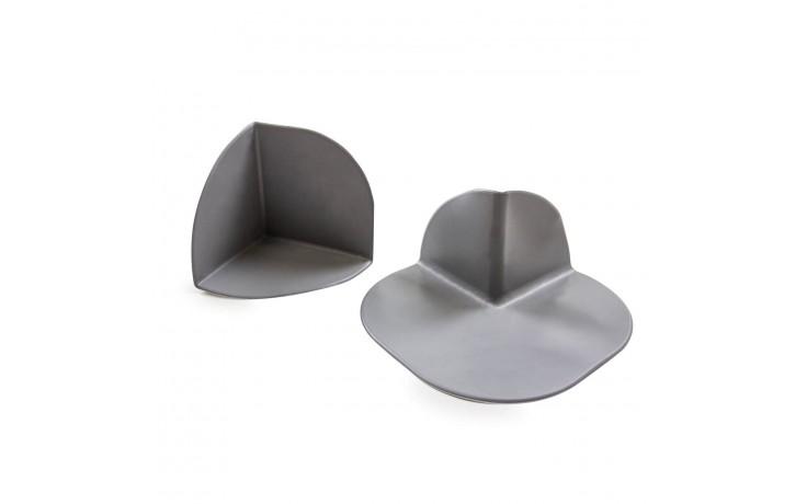 Coins / Angles de toiture en plastique homogène à haute teneur en polymère (en VAE / EVA)