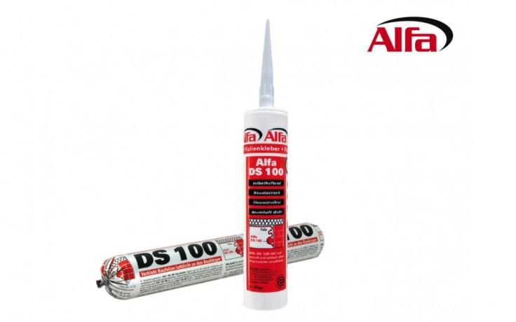 100 ALFA DS - Colle / Mastic d´étanchéité pour fixer des écrans et films