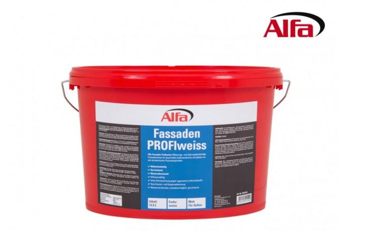 768 ALFA - «PROFIweiss» Couleur blanche pour façades
