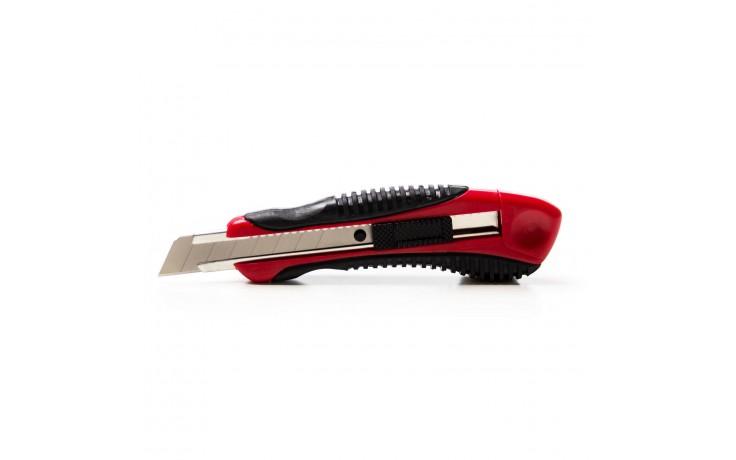 904 Couteau Petite boite, particuliérement pratique en plastique avec 12 lames de remplacement