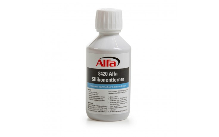 Dissolvant acide intensif anti-silicone