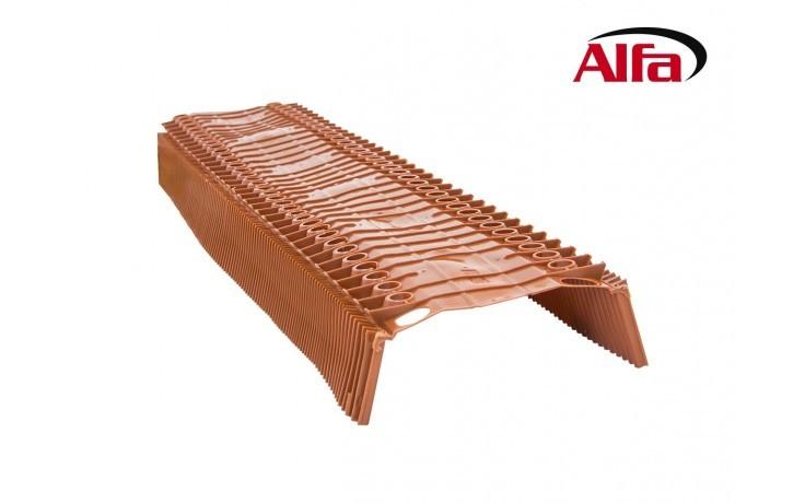 131 ALFA élément de ventilation pour arêtes et faîtes