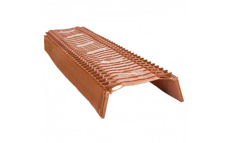Elément en PVC pour une ventilation optimale des arêtes