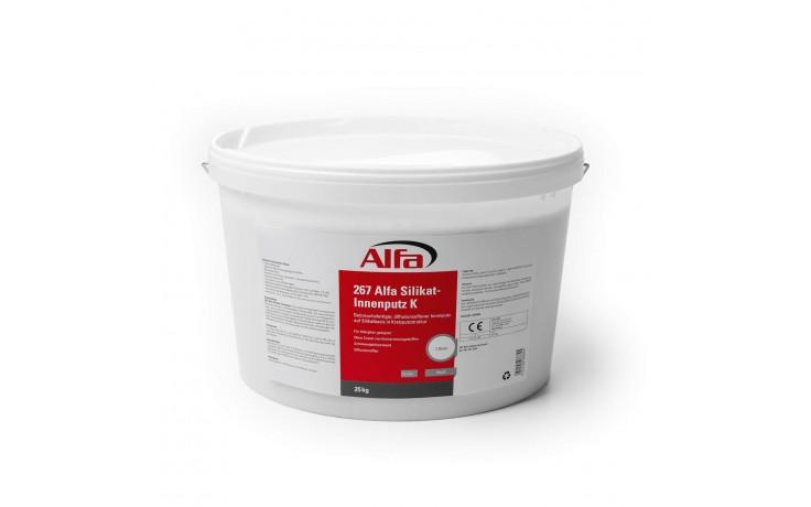 267 Alfa Enduit intérieur au silicate 2 mm (plâtre à gratter)