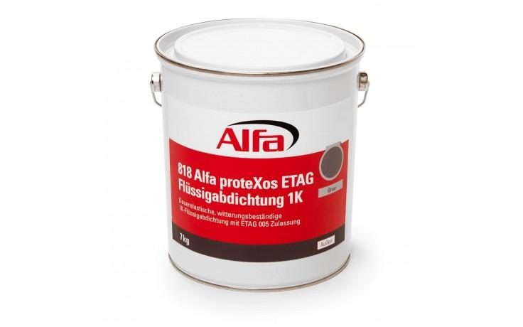 Étanchéité liquide 1K, mono composant avec homologation 005 ETAG, élastique durablement, résistant aux intempéries