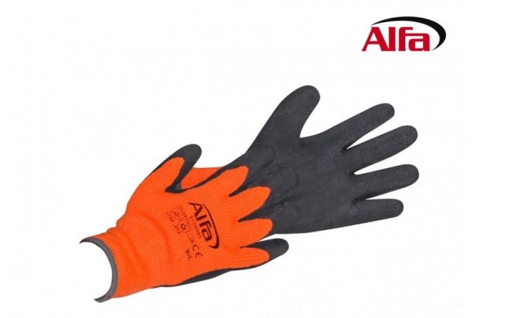 915 ALFA - Gants d' hiver garantie une excellente prise par grand froid et au contact avec ll´eau