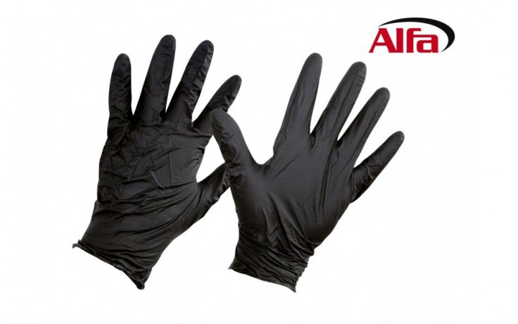 946 ALFA - Gants de protection en nitrile jetables