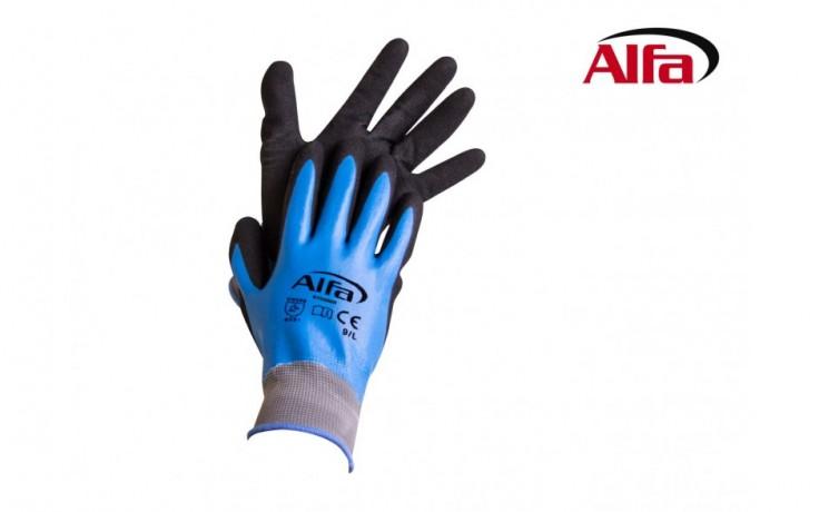 875 ALFA - Gants en nitrile BLUE