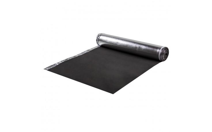 Isolation acoustique élastique en acétate d'éthyle et de vinyle avec pare-vapeur en aluminium et bandes auto-adhésives