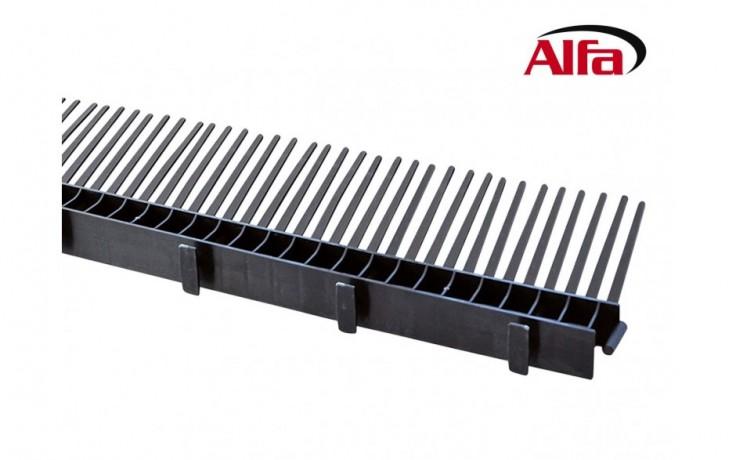 130 ALFA - Chéneau de ventilation avec peigne - extérieur