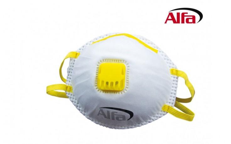 907 ALFA - Masque poussières fines FFP1 (avec valve)