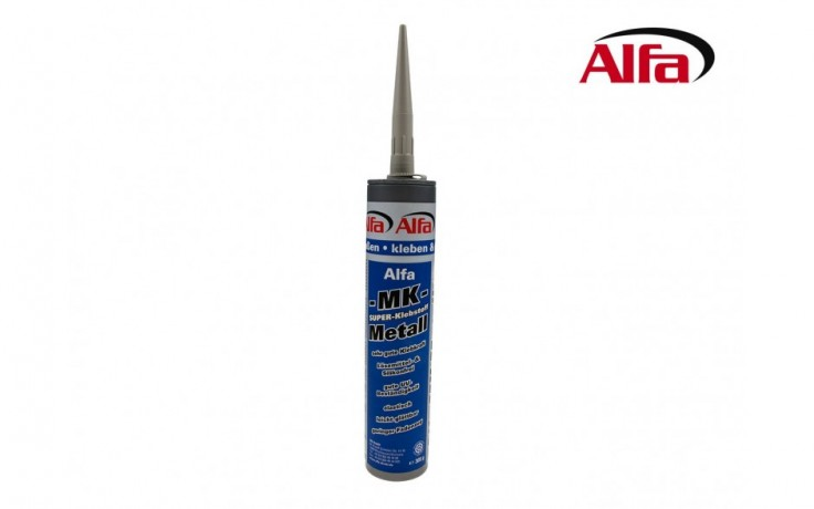 865 ALFA «MK Métal» - Mastic de collage et d'étanchéité hybride monocomposant