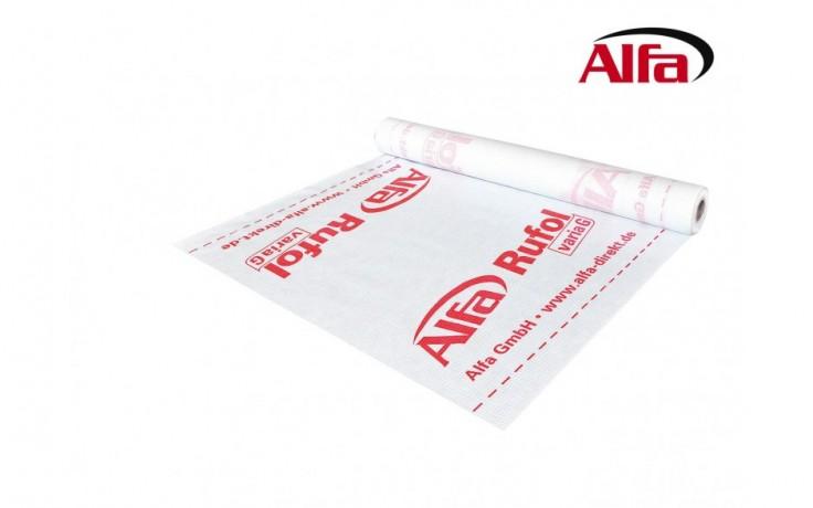 171 ALFA - Rufol varia «G» - Membrane frein pare-vapeur avec grille de renforcement ultra résistant- idéale pour isolation soufflée.