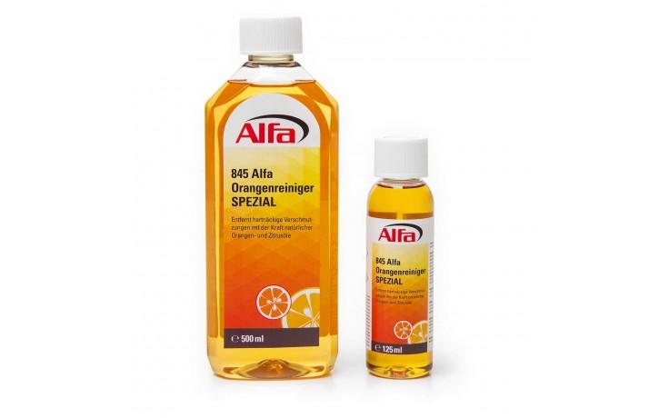 Nettoyant ultra concentré aux huiles essentielles d´oranges et de citrons.