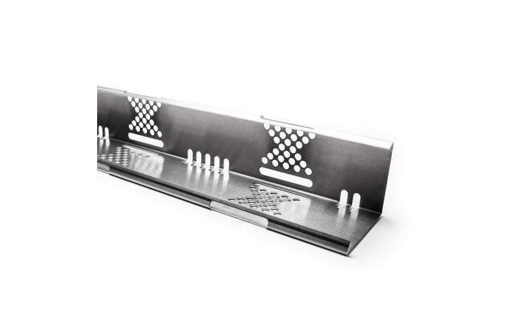 Pare-gravier variable en aluminium de haute qualité, y compris raccord