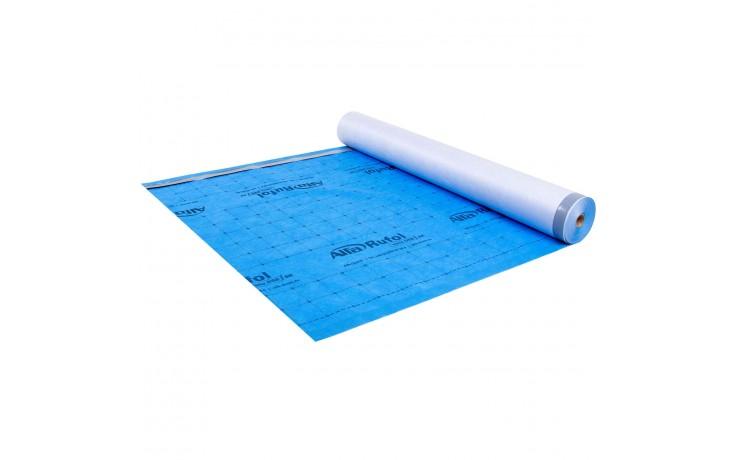 Membrane de toiture ouverte à la diffusion avec 170 g/m² et double bande autocollante
