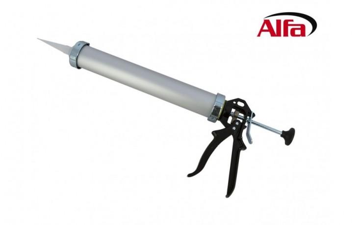 892 ALFA - Pistolet pour poches de mastic silicone, mastic polyuréthane et colle