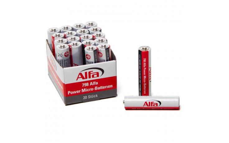 798 ALFA POWER Micro – batteries (AAA)