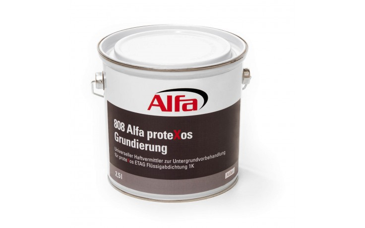 Primaire multi emploi pour la préparation de la surface qui va accueillir protexos ETAG étanchéité liquide