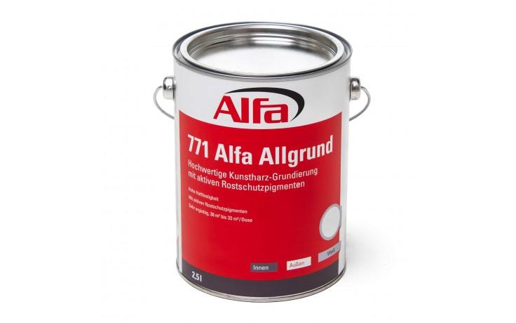 771 ALFA - Résine synthétique «Allround», pour toute surface