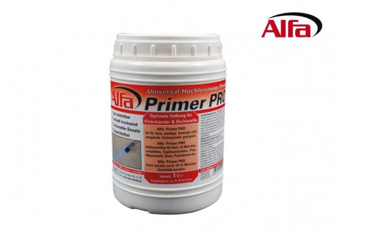 110 ALFA Base pour adhérence ultra puissante; séche ultra rapidement. Elle est idéale pour être utilisé sur des surfaces libres et aspirantes.