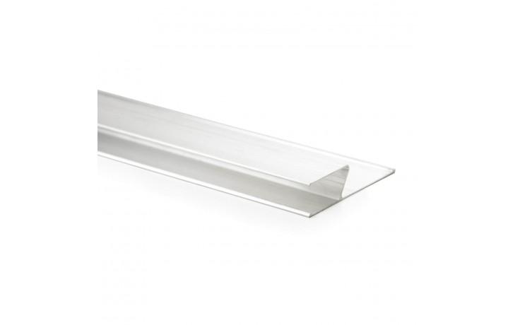 Règle pratique en forme de « h » en aluminium