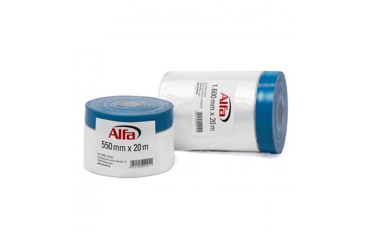 560 ALFA - Ruban adhésif de masquage (tissulaire) - intérieur / extérieur