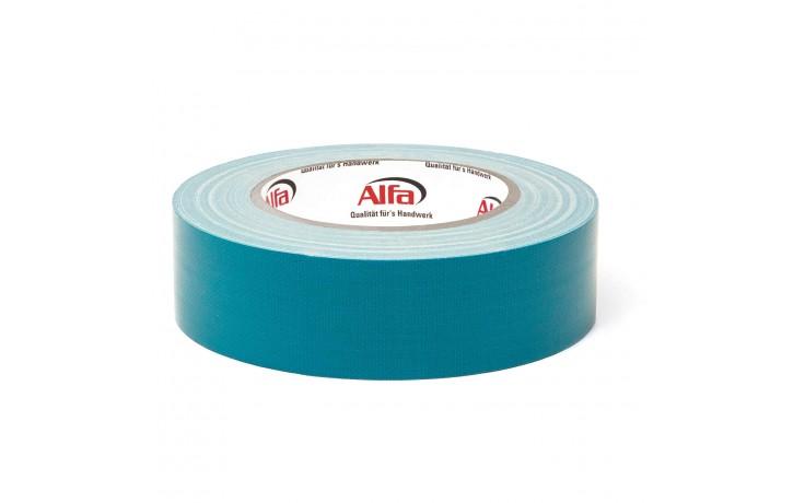 587 ALFA UV - Ruban adhésif de masquage, tissulaire bleu (avec protection UV intégré) - Excellente résistance aux intempéries